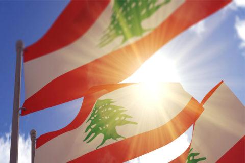 Bandiere Libano ok